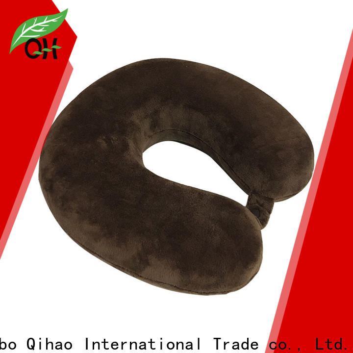 Qihao cool best travel neck pillow manufacturers for a rest