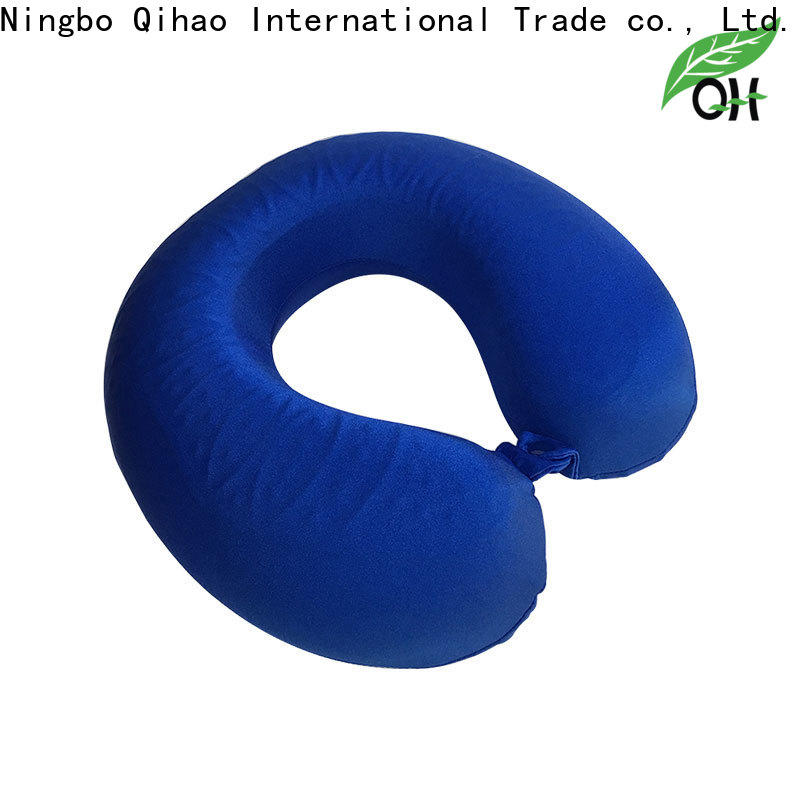 High-quality gel infused memory foam pillow qihao company for office