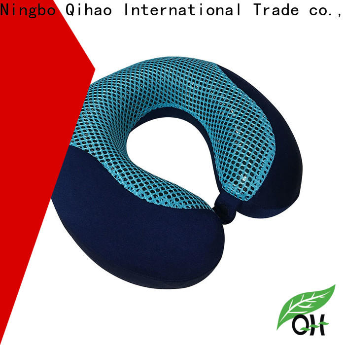 Qihao layer gel neck pillow manufacturers for travel
