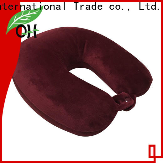 Wholesale best memory foam travel pillow oem suppliers for student