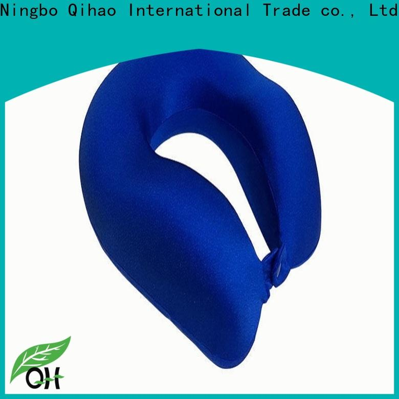 Qihao luxury u shaped neck pillow factory for a rest