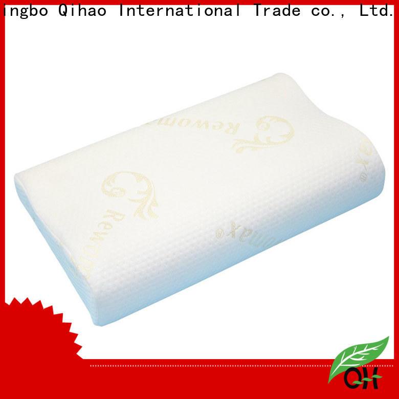 Qihao foam king size memory foam pillow for business for businessmen