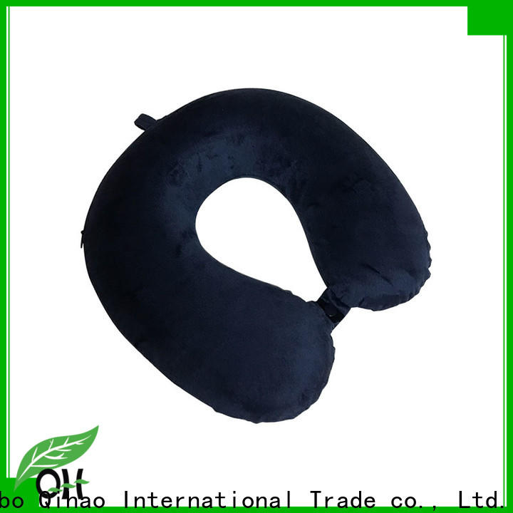 Qihao Custom travel pillow manufacturers for a rest