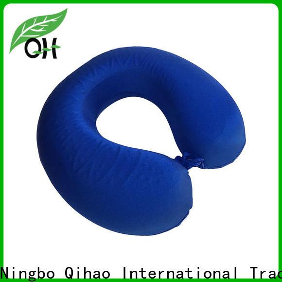Qihao foam gel memory foam pillow suppliers for travel