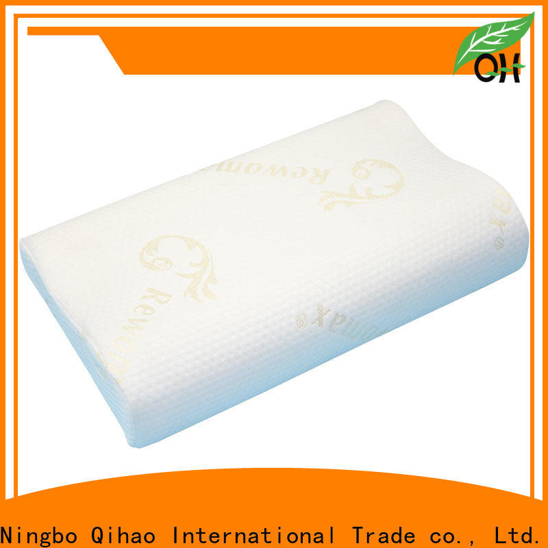 Qihao layer soft memory foam pillow suppliers for student