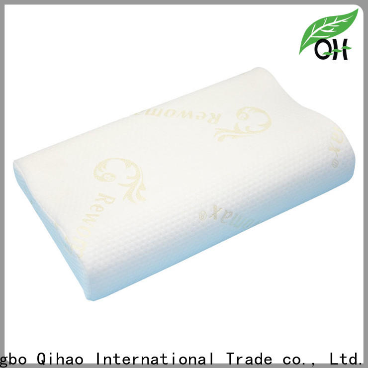 Qihao cover soft memory foam pillow factory for a rest