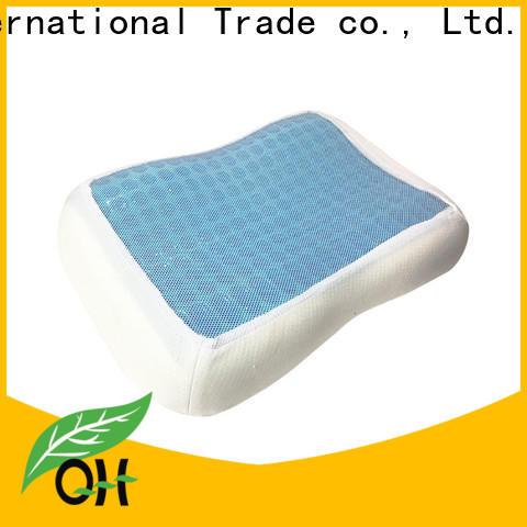 Qihao New best gel pillow factory for office