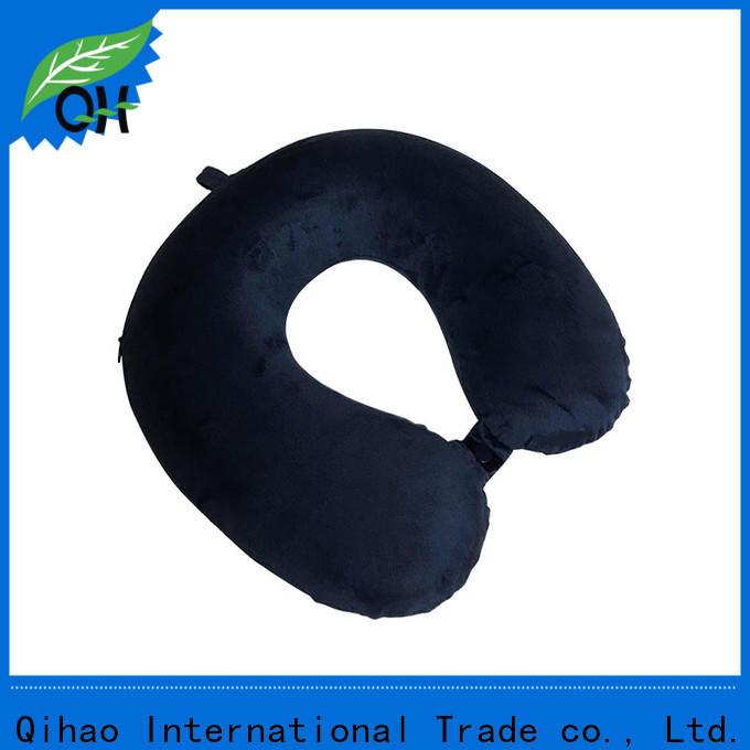 Custom best neck pillow for flying qihao supply for office