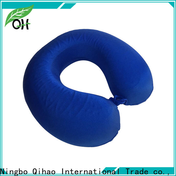 Qihao pillow gel infused memory foam pillow suppliers for travel