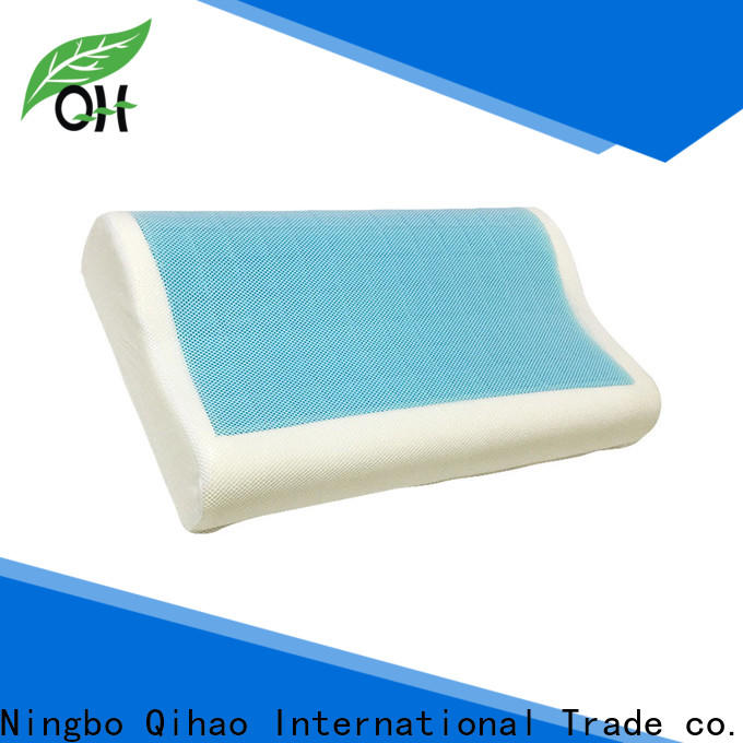 Qihao New best gel pillow manufacturers for travel