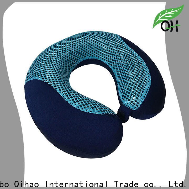 Top gel infused memory foam pillow oem suppliers for business trip