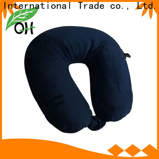 Qihao shape best airplane neck pillow company for student