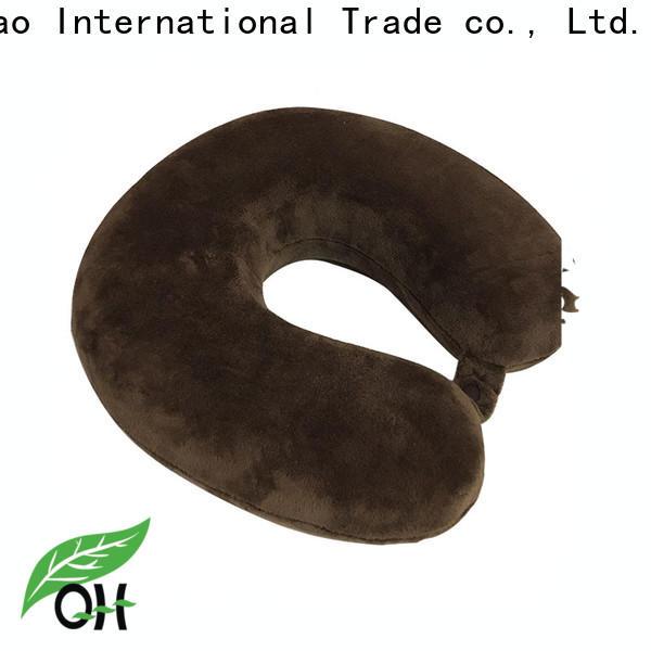 Latest memory foam u shaped pillow adjustable company for travel