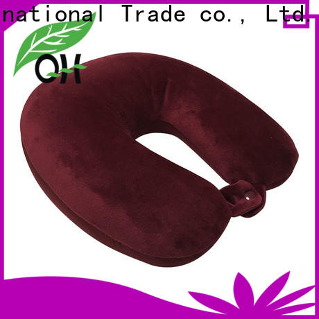 Qihao Top microbead travel pillow company for businessmen