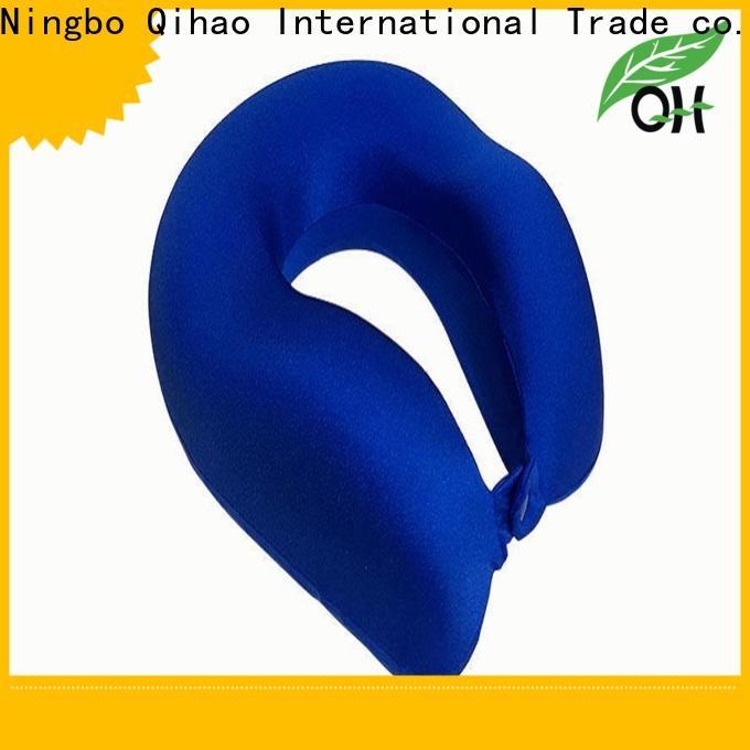 Qihao memory memory foam u shaped pillow company for sleeping