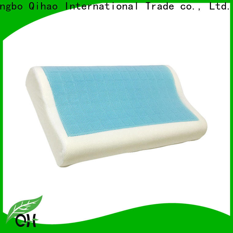 Qihao silicone best gel pillow supply for travel