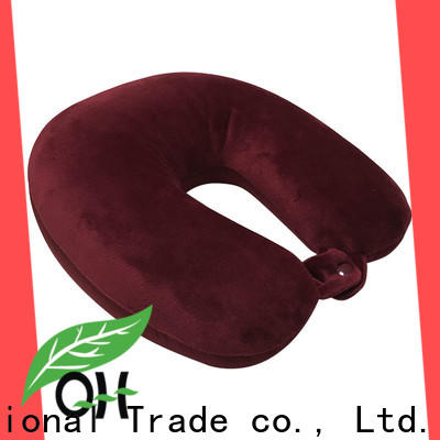 Qihao microbead neck rest pillow for travel supply for sleeping