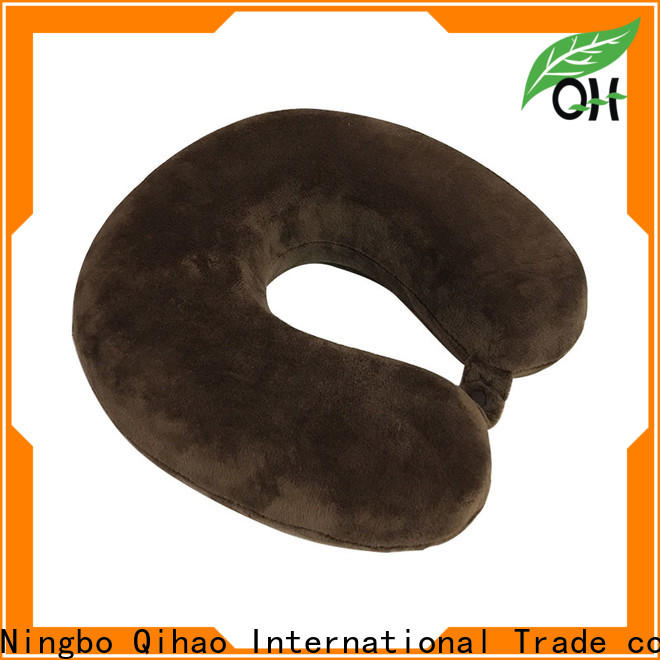 Qihao oem best travel neck pillow factory for office