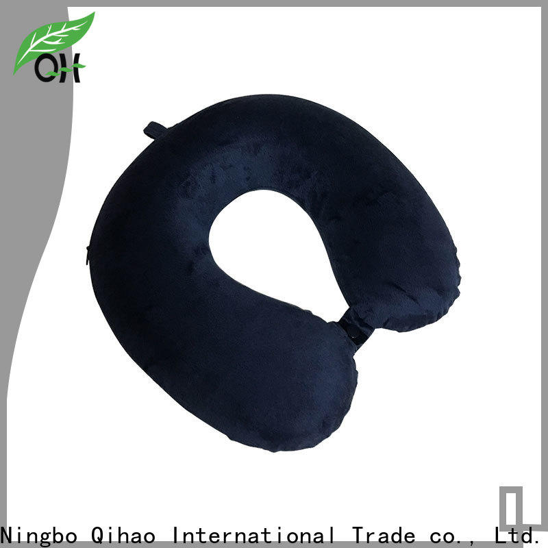 Qihao Wholesale travel pillows for airplanes company for a rest