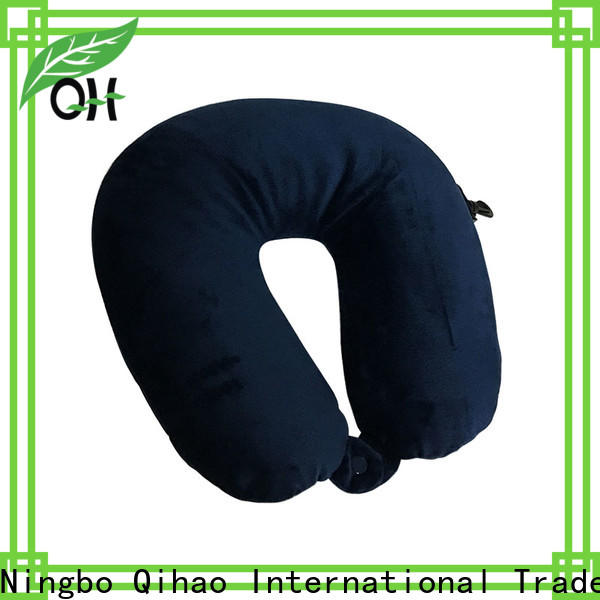 Qihao fabric neck rest pillow for travel for business for a rest