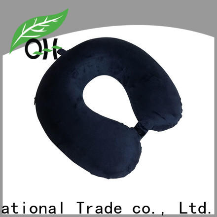 Qihao High-quality memory foam neck pillow travel factory for a rest