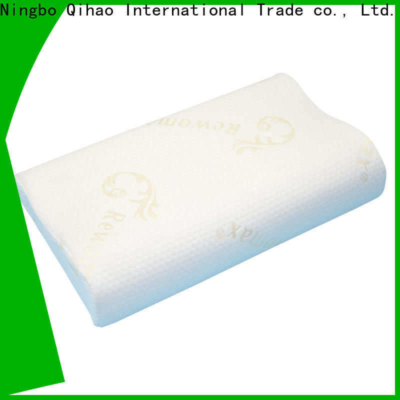 Qihao memory Slow recovery foam pillow supply for office