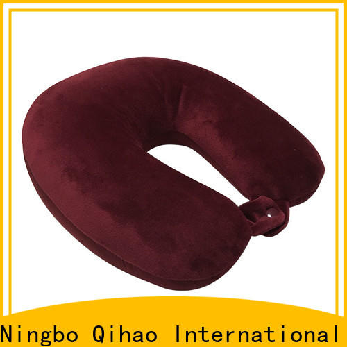 Qihao New best travel pillow for airplane manufacturers for businessmen