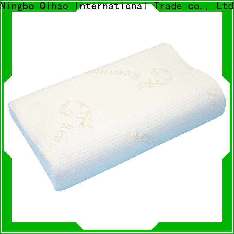 Qihao mf503010 slow rebound pillow supply for businessmen