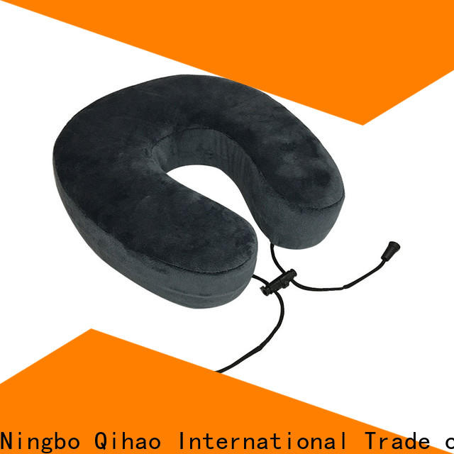 Qihao rope best neck pillow for flying suppliers for business trip