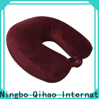 Custom the best travel pillow design suppliers for sleeping