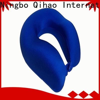 Qihao lycra world's best memory foam travel pillow for business for a rest