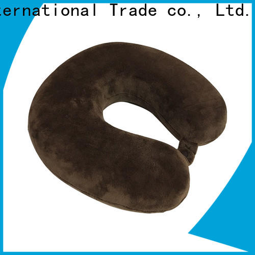 Qihao memory world's best memory foam travel pillow company for travel