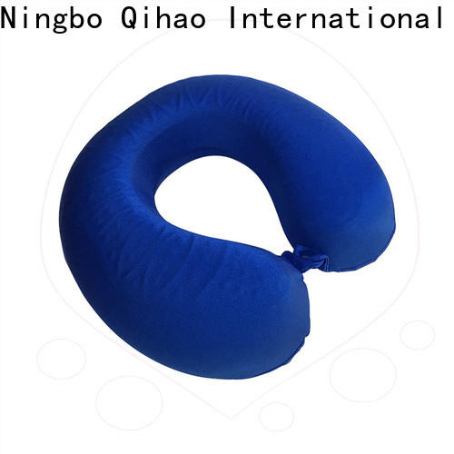 Qihao Latest gel memory foam pillow for business for travel