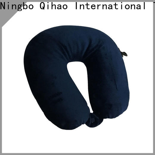 Qihao mb302 travel size memory foam pillow manufacturers for sleeping