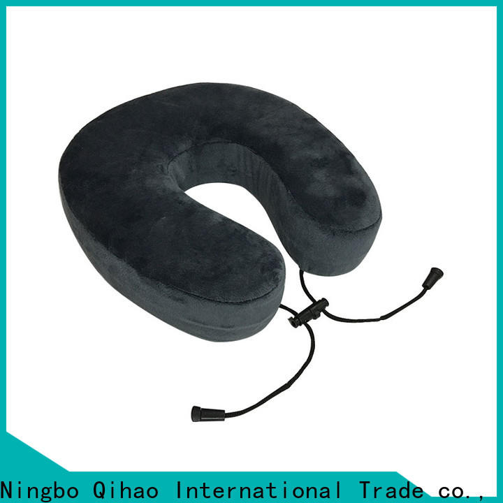Qihao memory travel neck pillow suppliers for a rest