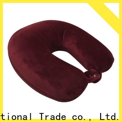 Qihao oem u shaped travel pillow for business for businessmen