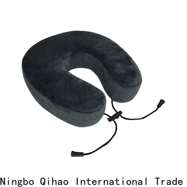 Qihao foam u shaped neck pillow supply for business trip