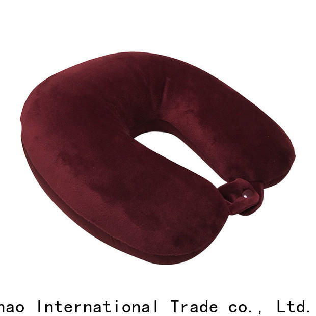 Qihao mb301 microbead travel pillow manufacturers for sleeping