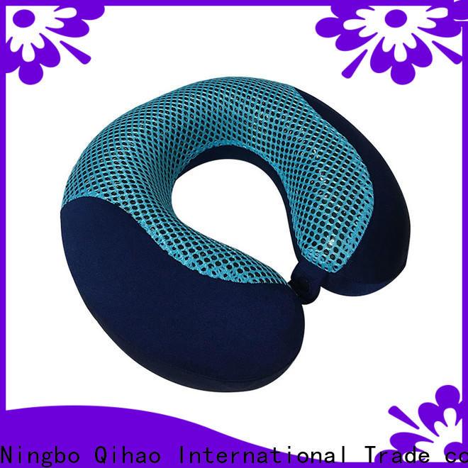 Qihao bamboo cooling memory foam pillow factory for sleeping