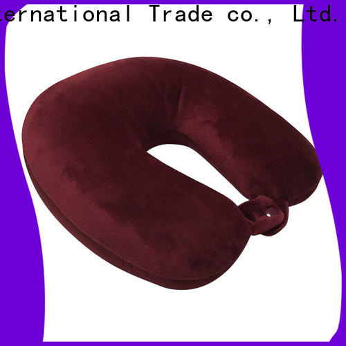 Qihao pearl best memory foam travel pillow factory for student