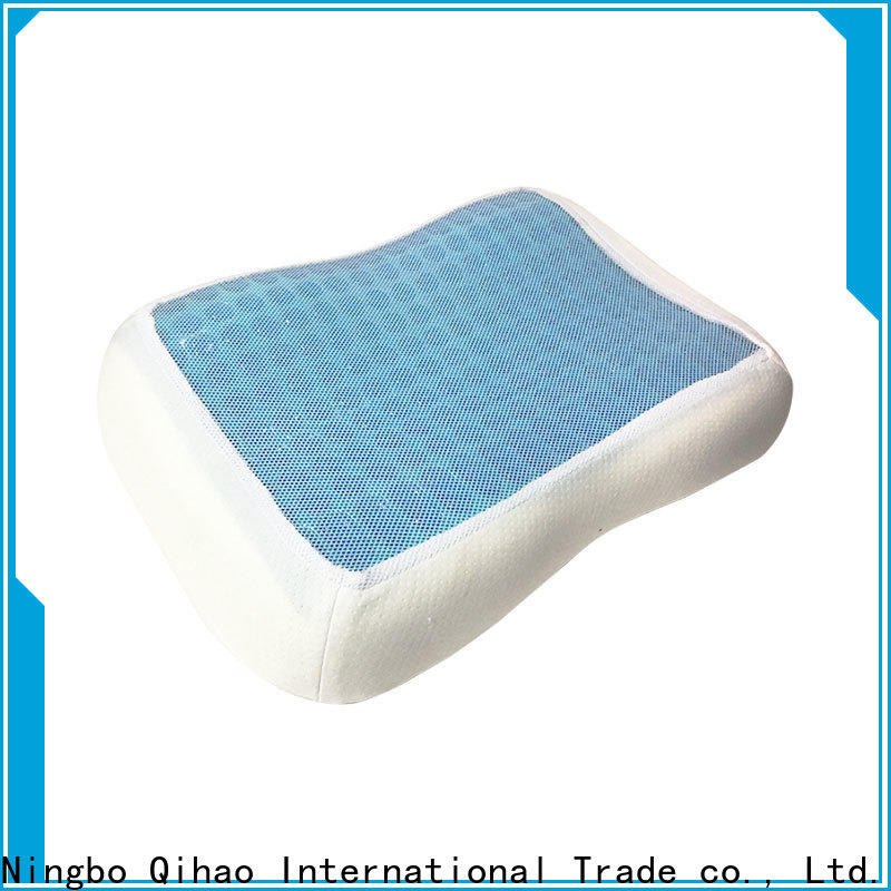 Qihao sandwich best gel pillow for business for travel