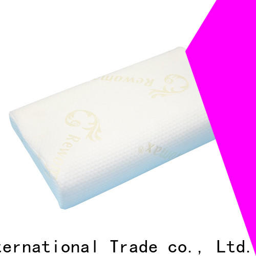Wholesale firm memory foam pillow cover for business for sleeping