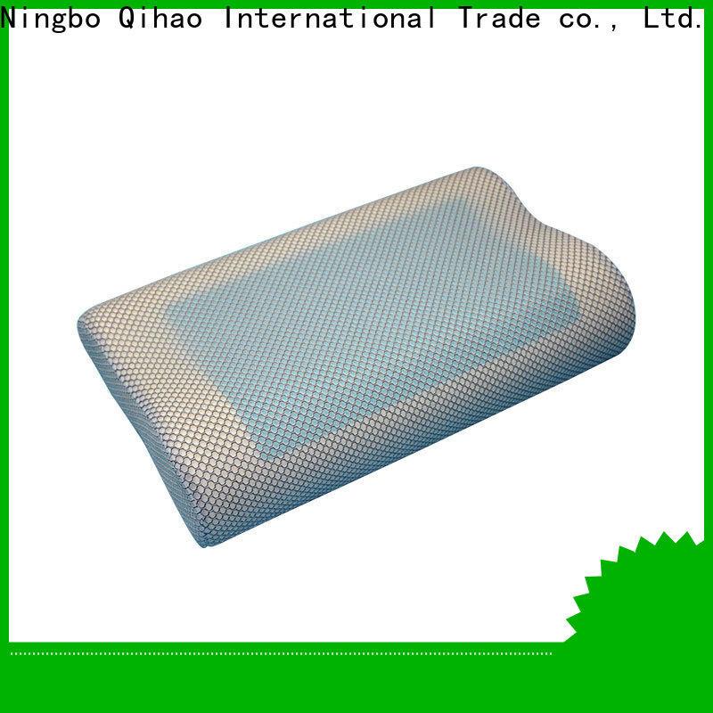 Qihao cool gel contour pillow manufacturers for business trip