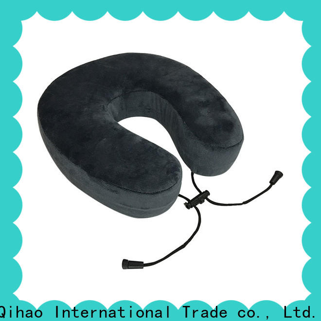 Qihao rope neck support travel pillow company for business trip