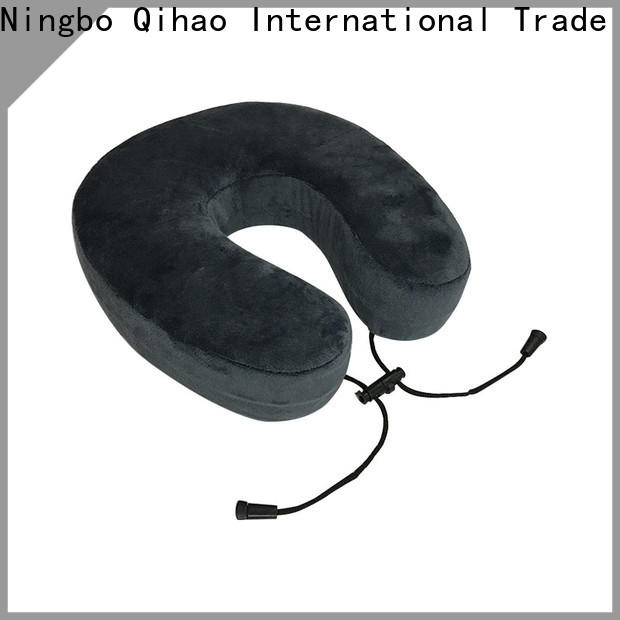 Qihao cover memory foam travel pillow suppliers for travel