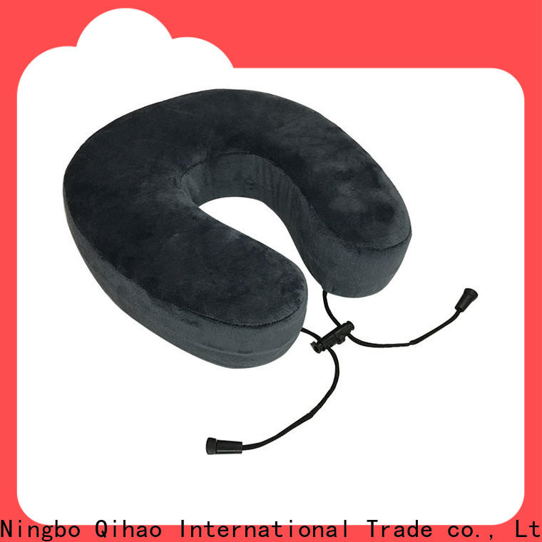 Qihao Latest world's best memory foam travel pillow company for business trip