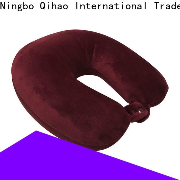 Qihao mb301 microbead neck pillow manufacturers for travel