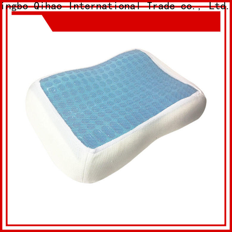 Wholesale gel contour pillow foam company for sleeping
