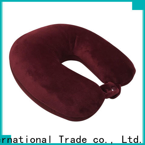 Qihao supersoft go travel memory foam pillow manufacturers for travel