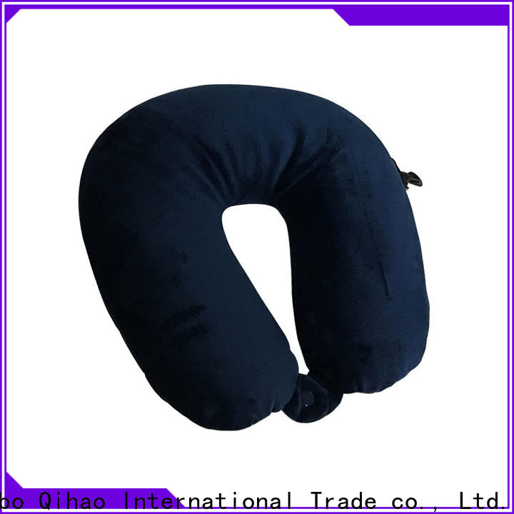Qihao Wholesale u shaped travel pillow company for a rest
